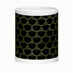 SCALES3 BLACK MARBLE & GRAY LEATHER Night Luminous Mugs Center