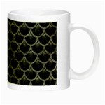 SCALES3 BLACK MARBLE & GRAY LEATHER Night Luminous Mugs Right