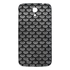 Scales3 Black Marble & Gray Leather (r) Samsung Galaxy Mega I9200 Hardshell Back Case by trendistuff