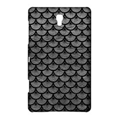 Scales3 Black Marble & Gray Leather (r) Samsung Galaxy Tab S (8 4 ) Hardshell Case