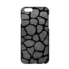 Skin1 Black Marble & Gray Leather Apple Iphone 6/6s Hardshell Case by trendistuff