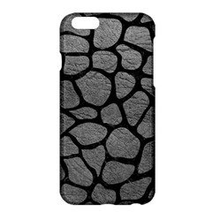 Skin1 Black Marble & Gray Leather Apple Iphone 6 Plus/6s Plus Hardshell Case by trendistuff