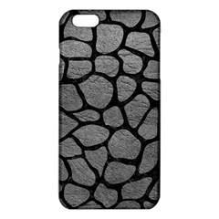Skin1 Black Marble & Gray Leather Iphone 6 Plus/6s Plus Tpu Case by trendistuff