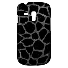 Skin1 Black Marble & Gray Leather (r) Galaxy S3 Mini by trendistuff
