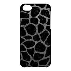 Skin1 Black Marble & Gray Leather (r) Apple Iphone 5c Hardshell Case by trendistuff
