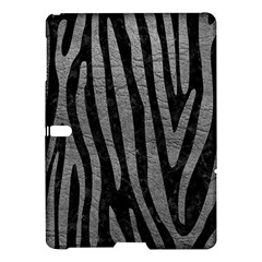 Skin4 Black Marble & Gray Leather (r) Samsung Galaxy Tab S (10 5 ) Hardshell Case  by trendistuff