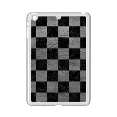 Square1 Black Marble & Gray Leather Ipad Mini 2 Enamel Coated Cases by trendistuff