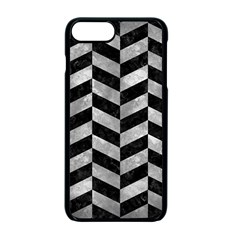 Chevron1 Black Marble & Gray Metal 2 Apple Iphone 7 Plus Seamless Case (black) by trendistuff