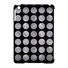 Circles1 Black Marble & Gray Metal 2 Apple Ipad Mini Hardshell Case (compatible With Smart Cover) by trendistuff