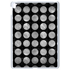 Circles1 Black Marble & Gray Metal 2 Apple Ipad Pro 9 7   White Seamless Case by trendistuff