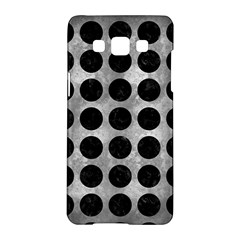 Circles1 Black Marble & Gray Metal 2 (r) Samsung Galaxy A5 Hardshell Case  by trendistuff