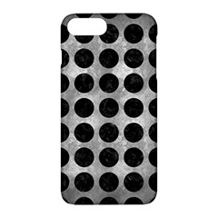 Circles1 Black Marble & Gray Metal 2 (r) Apple Iphone 7 Plus Hardshell Case by trendistuff