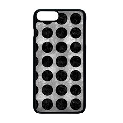 Circles1 Black Marble & Gray Metal 2 (r) Apple Iphone 7 Plus Seamless Case (black) by trendistuff