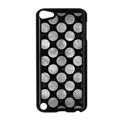 Circles2 Black Marble & Gray Metal 2 Apple Ipod Touch 5 Case (black) by trendistuff