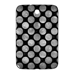 Circles2 Black Marble & Gray Metal 2 Samsung Galaxy Note 8 0 N5100 Hardshell Case  by trendistuff