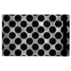Circles2 Black Marble & Gray Metal 2 (r) Apple Ipad Pro 9 7   Flip Case by trendistuff