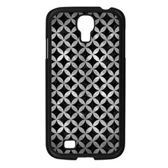 Circles3 Black Marble & Gray Metal 2 Samsung Galaxy S4 I9500/ I9505 Case (black) by trendistuff