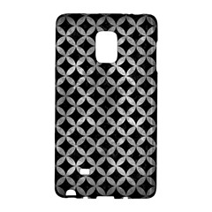 Circles3 Black Marble & Gray Metal 2 Galaxy Note Edge by trendistuff