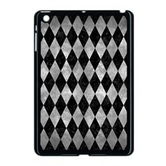 Diamond1 Black Marble & Gray Metal 2 Apple Ipad Mini Case (black)