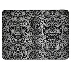 Damask2 Black Marble & Gray Metal 2 (r) Samsung Galaxy Tab 7  P1000 Flip Case by trendistuff