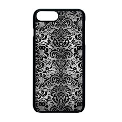 Damask2 Black Marble & Gray Metal 2 (r) Apple Iphone 7 Plus Seamless Case (black) by trendistuff