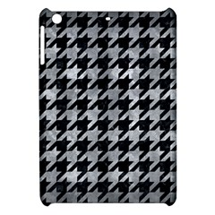 Houndstooth1 Black Marble & Gray Metal 2 Apple Ipad Mini Hardshell Case by trendistuff