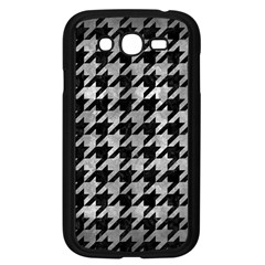 Houndstooth1 Black Marble & Gray Metal 2 Samsung Galaxy Grand Duos I9082 Case (black) by trendistuff