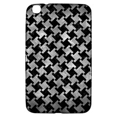 Houndstooth2 Black Marble & Gray Metal 2 Samsung Galaxy Tab 3 (8 ) T3100 Hardshell Case  by trendistuff