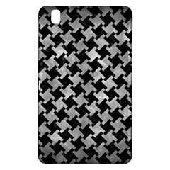 Houndstooth2 Black Marble & Gray Metal 2 Samsung Galaxy Tab Pro 8 4 Hardshell Case by trendistuff
