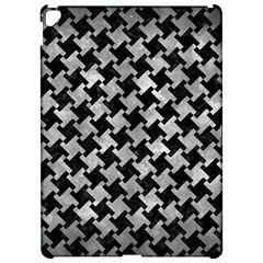 Houndstooth2 Black Marble & Gray Metal 2 Apple Ipad Pro 12 9   Hardshell Case by trendistuff