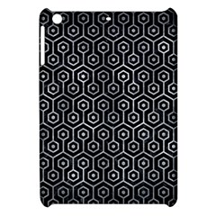Hexagon1 Black Marble & Gray Metal 2 Apple Ipad Mini Hardshell Case by trendistuff