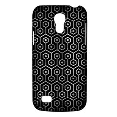 Hexagon1 Black Marble & Gray Metal 2 Galaxy S4 Mini by trendistuff