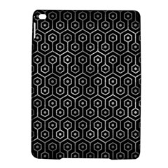 Hexagon1 Black Marble & Gray Metal 2 Ipad Air 2 Hardshell Cases by trendistuff