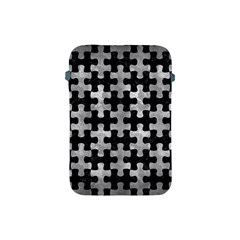 Puzzle1 Black Marble & Gray Metal 2 Apple Ipad Mini Protective Soft Cases by trendistuff