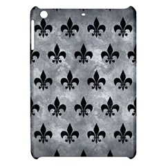 Royal1 Black Marble & Gray Metal 2 Apple Ipad Mini Hardshell Case by trendistuff