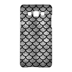 Scales1 Black Marble & Gray Metal 2 (r) Samsung Galaxy A5 Hardshell Case  by trendistuff