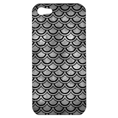 Scales2 Black Marble & Gray Metal 2 (r) Apple Iphone 5 Hardshell Case by trendistuff
