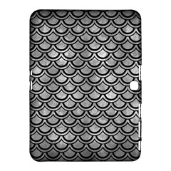 Scales2 Black Marble & Gray Metal 2 (r) Samsung Galaxy Tab 4 (10 1 ) Hardshell Case  by trendistuff