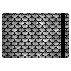 Scales3 Black Marble & Gray Metal 2 (r) Ipad Air Flip by trendistuff