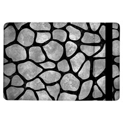 Skin1 Black Marble & Gray Metal 2 Ipad Air Flip by trendistuff