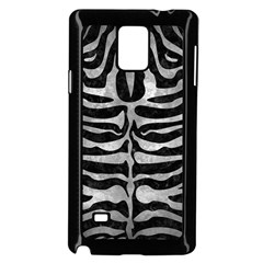 Skin2 Black Marble & Gray Metal 2 Samsung Galaxy Note 4 Case (black) by trendistuff
