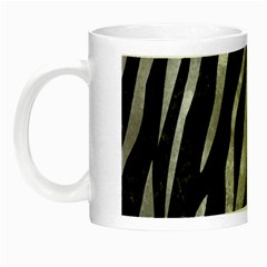 Skin3 Black Marble & Gray Metal 2 Night Luminous Mugs by trendistuff