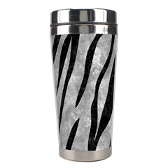 Skin3 Black Marble & Gray Metal 2 (r) Stainless Steel Travel Tumblers by trendistuff