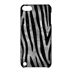 Skin4 Black Marble & Gray Metal 2 Apple Ipod Touch 5 Hardshell Case With Stand by trendistuff