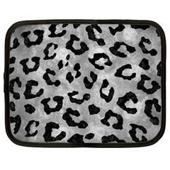 Skin5 Black Marble & Gray Metal 2 Netbook Case (xxl)  by trendistuff