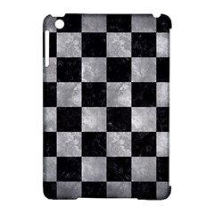 Square1 Black Marble & Gray Metal 2 Apple Ipad Mini Hardshell Case (compatible With Smart Cover) by trendistuff