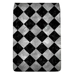 Square2 Black Marble & Gray Metal 2 Flap Covers (s)  by trendistuff