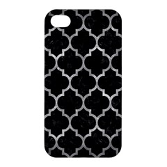 Tile1 Black Marble & Gray Metal 2 Apple Iphone 4/4s Hardshell Case by trendistuff