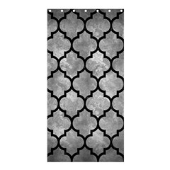 Tile1 Black Marble & Gray Metal 2 (r) Shower Curtain 36  X 72  (stall)  by trendistuff