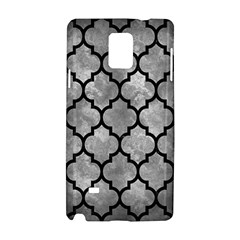 Tile1 Black Marble & Gray Metal 2 (r) Samsung Galaxy Note 4 Hardshell Case by trendistuff